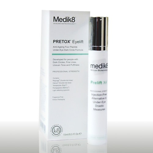 Solution anti cerne ridules yeux Pretox Eyelift - Medik8