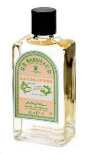 Lotion après-rasage Aftershave parfum bois santal - DR Harris