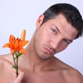 Maquillage beauté homme