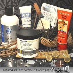 Lot produits soins hommes valeur 70 euros DH cosmetics