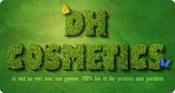 DH cosmetics se met au vert