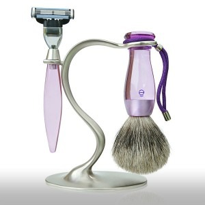 Stand blaireau et rasoir ê-shave