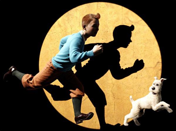 Tintin le plus célébre des reporters prend vie dans le dernier film de Spielberg !