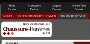 site chaussures hommes