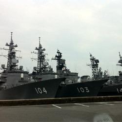 Base-navale-Américaine-à-Sasebo