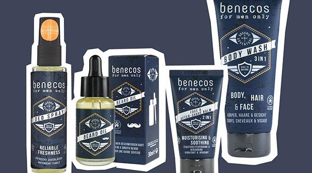 Benecos for Men : les nouveaux soins bio et vegan pour homme